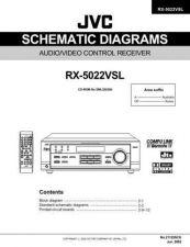 Buy JVC RX-5022VSL sch2 Service Schematics by download #130494