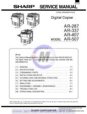 Buy Sharp AR5012 SM GB(1) Manual by download #179450
