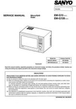 Buy Sanyo Service Manual For EM-G453SEUK Manual by download #175803