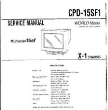 Buy SONY CPD-15SF1 CDC-1409 by download #159479