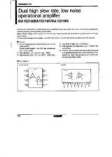 Buy INTEGRATED CIRCUIT DATA BA15218J Manual by download Mauritron #186565