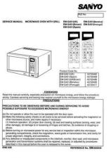 Buy Sanyo Service Manual For EM-G2551EUK GEUK Manual by download #175785