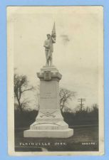 Buy CT Plainville Real Photo RPPC Of Soldiers Monument~664