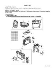 Buy JVC GR-D270E par Service Schematics by download #155582
