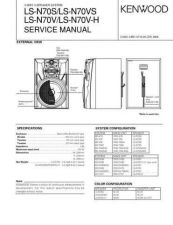 Buy KENWOOD LS-N70S N70VS N70V N70VH Technical Info by download #152012