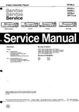Buy MODEL VP17 Service Information by download #125006