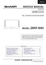 Buy Sharp 28JW73H SM GB(1) Manual by download #169927