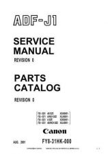 Buy Canon COMBO COVER Service Schematics by download #135173