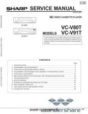 Buy Sharp 70 VCV91T Manual.pdf_page_1 by download #178798