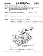 Buy Sony HCD-H771 HCD-H771H771D sm Service Schematics by download #159522