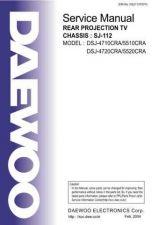 Buy DAEWOO DSJ4710CRA%20SERVICE%20MANUAL Manual by download #183991