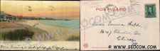 Buy CT New London Postcard View Of Ocean Beach Undivided Back Rotograph Card c~1750