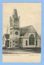 Buy CT Litchfield Methodist Episcopal Church View Of Old Church Building~510