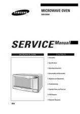 Buy Samsung MW7896W XAA10029101 Manual by download #164852