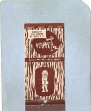 Buy CA Beverly Hills Matchcover Tiki The Luau~48