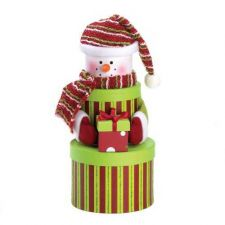 Buy Snowman Round Gift Box Set