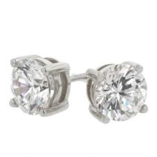 Buy Clear Classic Studs 6.25mm Earrings