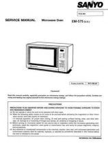 Buy Sanyo Service Manual For EM-S3052 Manual by download #175874