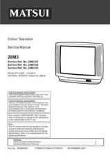 Buy Sanyo Service Manual For 25M2 SM-Only Manual by download #175521