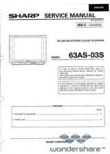 Buy Sharp 63CS05S-70CS05S SM GB(1) Manual.pdf_page_1 by download #178775
