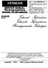 Buy Hitachi TH MECHANISM NO 6309EFG Manual by download Mauritron #184634
