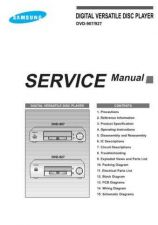 Buy MODEL DVD907 Service Information by download #124079