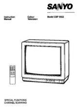 Buy Sanyo CBP602 Manual by download #171369