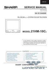 Buy Sharp 21HM10C SM GB(1) Manual.pdf_page_1 by download #177885