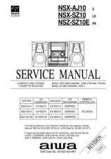 Buy Aiwa NSX-SZ10 Manual by download #181790