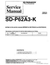 Buy MODEL SP62A3 Service Information by download #124572