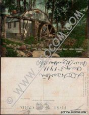 Buy CT New London Postcard Ye Olde Towne Mill Erected 1650 ct_box4~1966