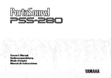 Buy Yamaha PSS280E Operating Guide by download Mauritron #205081