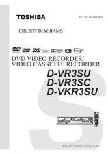 Buy TOSHIBA DVR3SU SC DVKR3SU CD Service Schematics by download #160098