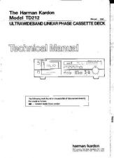 Buy INFINITY TD212 SM Service Manual by download #147873