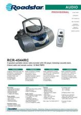 Buy ROADSTAR RCR-4544RC by download #128472