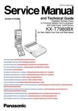 Buy MODEL KXT7980 Service Information by download #124275