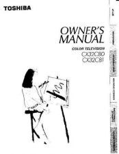 Buy Toshiba CX35D60 2 Manual by download #171970