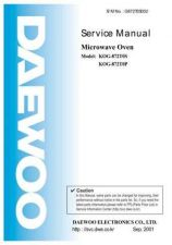 Buy Daewoo G872T0S002 Service Manual by download #160739