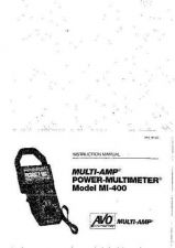 Buy Biddle MI-400 Operating Guide User Instructions by download #180444
