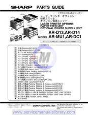 Buy Sharp ARD17N-D18N-D19N SM GB(1) Manual by download #179550