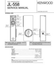 Buy KENWOOD JL-558 Technical Info by download #148116