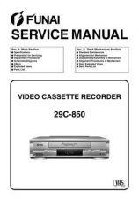 Buy Funai 29C-850 (HG455FD) SERVICE MANUAL Manual by download Mauritron #185125