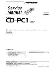 Buy PIONEER C2703 Service Data by download #149060