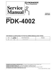 Buy PIONEER A2990 Service Data by download #148630