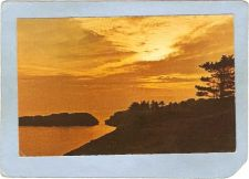 Buy CAN Vancouver Postcard Sunset On Vancouver Island can_box1~110