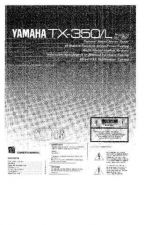 Buy Yamaha TX-350 Owners Manual User Guide Operating Instructions by download Mauri
