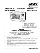 Buy Sanyo EM-S3552 Manual by download #174376