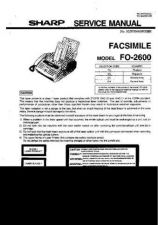 Buy Sharp 557 FO-2600 Manual by download #178675