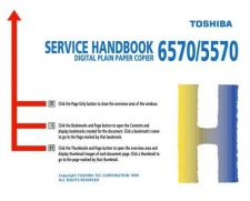 Buy Toshiba 6570SH Service Manual by download #139234
