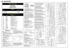 Buy Goldstar KE 21P10T Schematics plus by download #150861